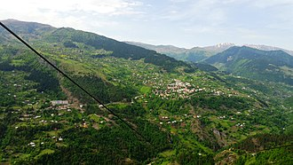 Khulo - Image: Khulo, wiev from Tago Cableway Station