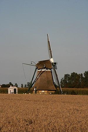 Kimswerd - Image: Kimswerd molen De Eendracht