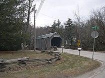 Kingsley Covered Bridge, East Clarendon, Vermont.jpg