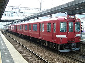 "Kintetsu 2680 EMU Fresh fish Train ""Sengyo Ressha"" at Haibara station.jpg"