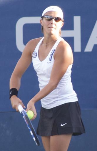 Kirsten Flipkens - Kirsten Flipkens at the 2009 US Open