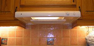 Kitchen stove fan.
