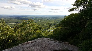 Kittatinny Mountain - Image: Kittatinny valley seen from sunrise mountain aka kittatinny mountain nj