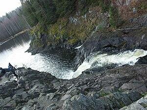 Kivach Nature Reserve - Image: Kivach w fall