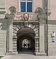 Klagenfurt Innere Stadt Landhaushof 1 Landhaus westliches Rustikaportal 18072016 3149.jpg