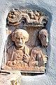 Klagenfurt Lendorf Kirche Nischenportraitgrabstein Buesten Ehepaar 16102008 60.jpg