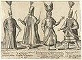 Kleding van Ottomaanse soldaten rond 1580 Traditionele kleding van over de hele wereld rond 1580 (serietitel), RP-P-1896-A-19129.jpg