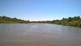 Kolkheti National Park - Paliastomi lake in Kolkheti National Park
