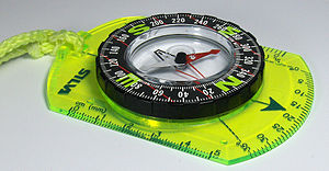 Silva compass - Silva Voyager compass (Brunton 9020)