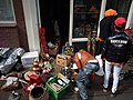 Koningsdag in Amsterdam, Tweede Rozendwarsstraat foto 1.JPG