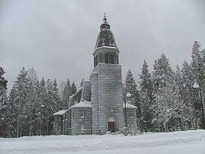Konnevesi - Image: Konneveden kirkko