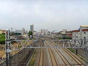 Gyeongin Line - Image: Korail Gyeongin Line