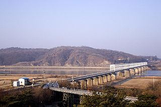 Imjin River River in Korea