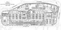Krankenhaus St. Georg nach dem Umbau 1915 - Lageplan (ZfB 1917).png