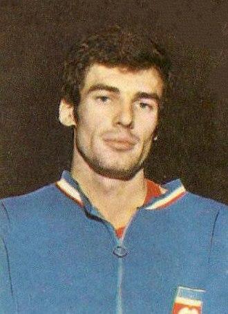 Krešimir Ćosić - Krešo Ćosić with Yugoslavia in 1970.