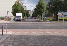 Gaten hvor det berømte bildet av schumann ble tatt