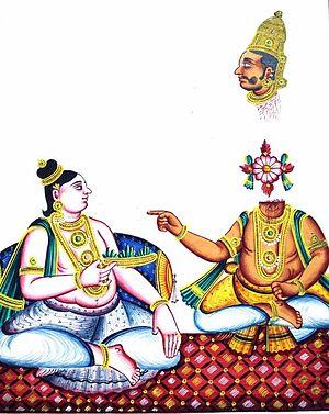 Shishupala Vadha - Krishna slays Shishupala