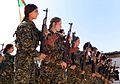 Kurdish YPG Fighters (30358638660).jpg