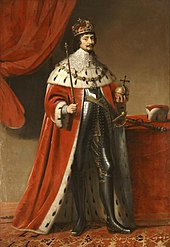 Frederick I of Bohemia (representation painting)