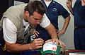 Kurt Warner on USNS Mercy 2-12-05 050212-N-6504N-005.jpg