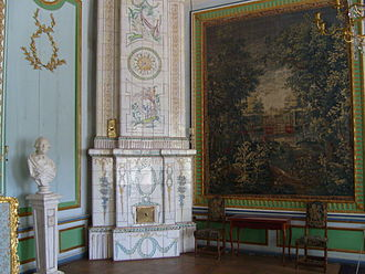 Kuskovo - Tapestry Room of Kuskovo Palace