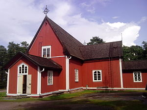 Kustavi - Kustavi church