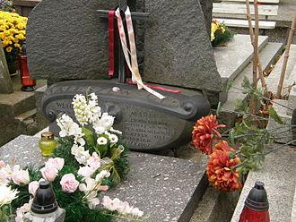 Maria Kwaśniewska - Grave of Maria Kwaśniewska at Powązki Cemetery in Warsaw