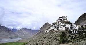 Key Monastery - Image: Kye Gompa and Spiti Valley