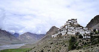 Key Monastery - Image: Kye Gompa and Spiti Valley