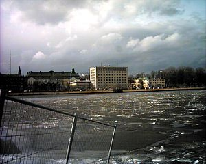 Jönköping County - View towards the Jönköping County Administrative Board headquarters in Jönköping.