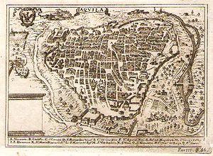 L'Aquila - L'Aquila in 1703.