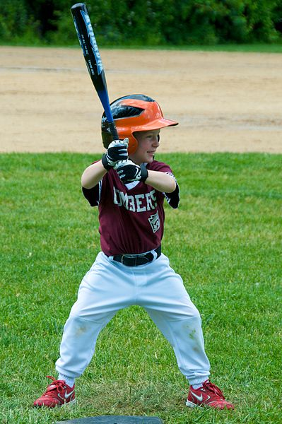 File:LIttle League baseball, May 2009 batter.jpg