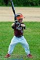 LIttle League baseball, May 2009 batter.jpg