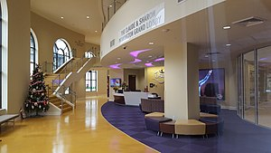 LSU Gymnastics Training Facility - Image: LSU Gymnastics Training Facility (Baton Rouge) Lobby