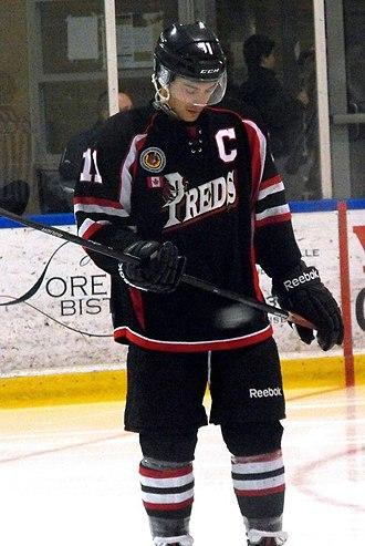 Komoka Kings - Predators captain during 2014-15 season.