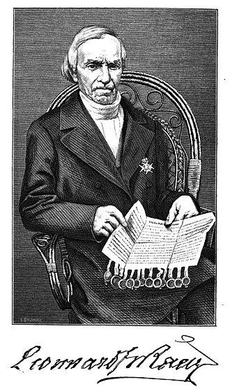 Leonhard Fredrik Rääf - 1870 drawing of Leonhard Fredrik Rääf