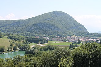La Balme-de-Sillingy - A view of La Balme-de-Sillingy from the hamlet of La Batie