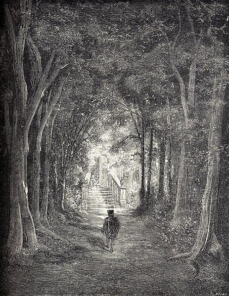 FileLa Belle au Bois Dormant  third of six engravings by Gustave  ~ Illustration La Belle Au Bois Dormant