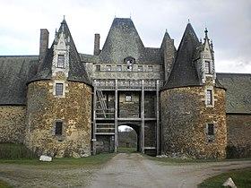 Image illustrative de l'article Château de la Motte-Glain
