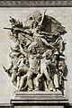 La Marseillaise by François Rude, Arc de Triomphe, Paris 6 March 2015.jpg