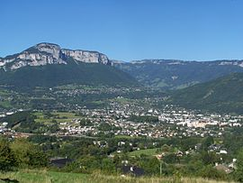 A general view of La Ravoire