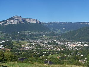 La Ravoire - A general view of La Ravoire