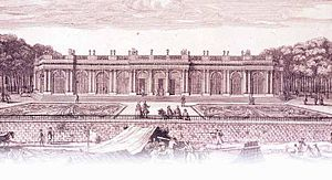 Louise Françoise de Bourbon, Duchess of Bourbon - The Palais Bourbon as built by Louise Françoise.