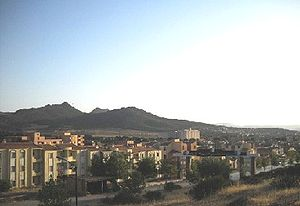 Ouled Mimoun - Image: La montagne de la femme endormie a Ouled mimoun