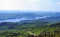 Northern portion of Lake Tremblant