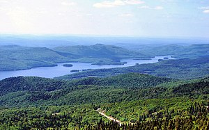Lac-Tremblant-Nord, Quebec - Northern portion of Lake Tremblant