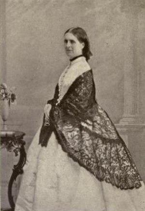 Charles Monck, 4th Viscount Monck - Lady Elizabeth Louise Mary Monck by William Notman