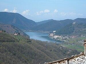 Lago di Piediluco - Image: Lago di Piediluco (visto da Labro) 4