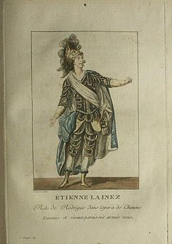 Lainez as Rodrigue in Chimène.jpg