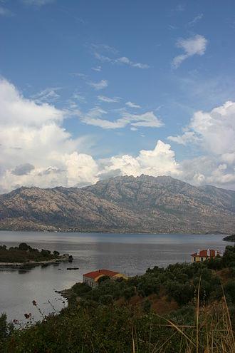 Lake Bafa Nature Park - Image: Lake Bafa (4)